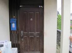 玄関ドア工事