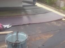 玄関板金貼り替え工事
