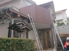 板壁張替え工事