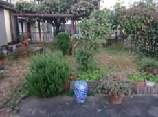 庭の雑草予防(防草シート)~砂利引き