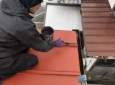 屋根板金塗装工事♂️