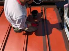 瓦棒板金塗装工事