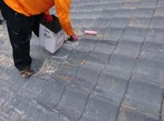 小郡市 屋根塗装工事