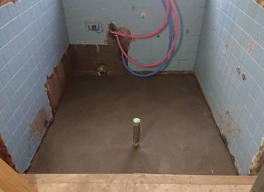 浴槽及び脱衣所改修工事 工程