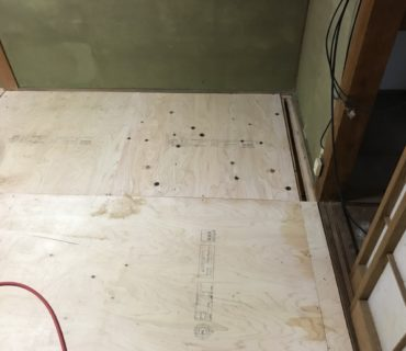 畳からフローリング工事 施工後