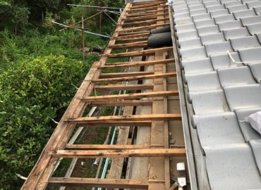 板金張替え工事 工程