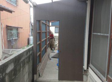 住宅補修工事(倉庫) 工程4