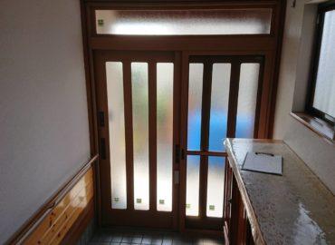 玄関ドア・リフォーム工事 施工後