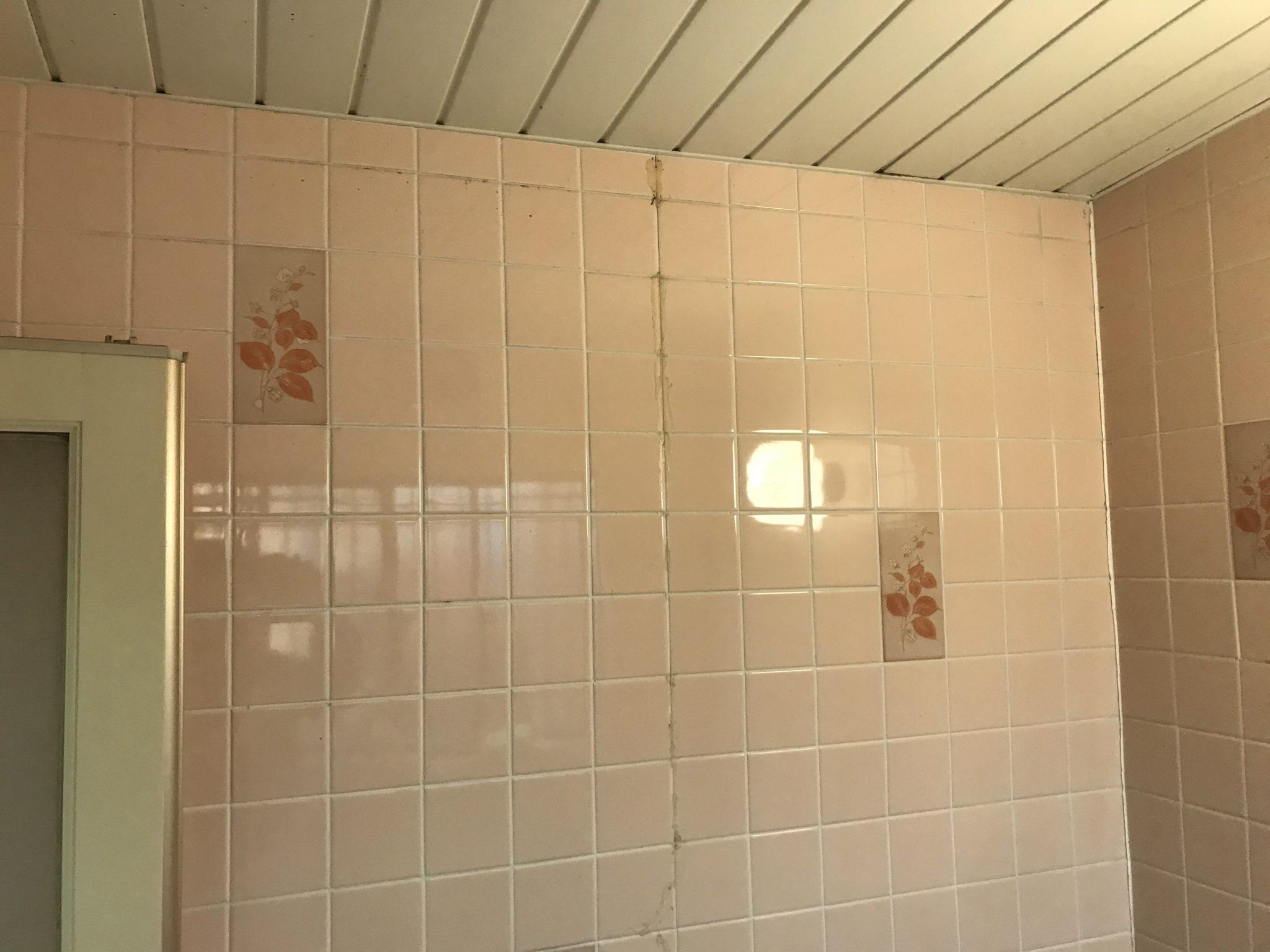浴室コーキング工事 施工前