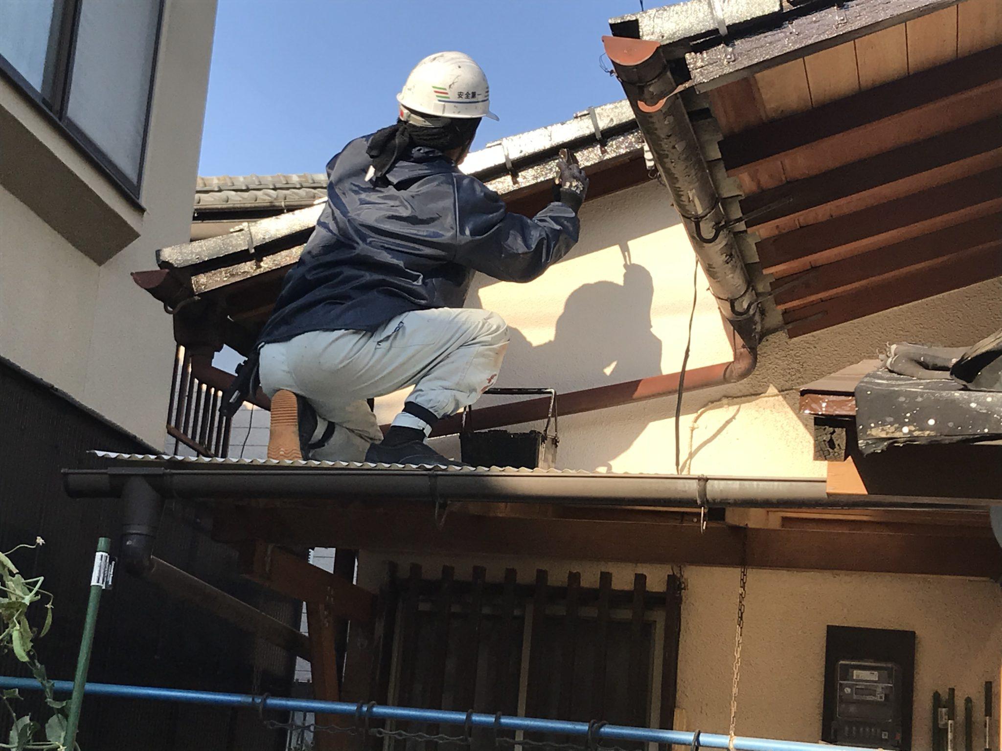 塗装工事 工程3