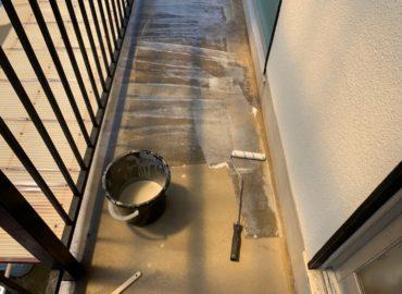 ベランダ防水工事 工程1