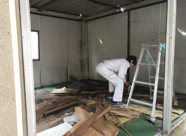 住宅解体工事 工程2