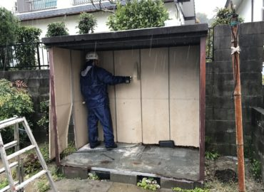 M様邸倉庫解体工事 工程1