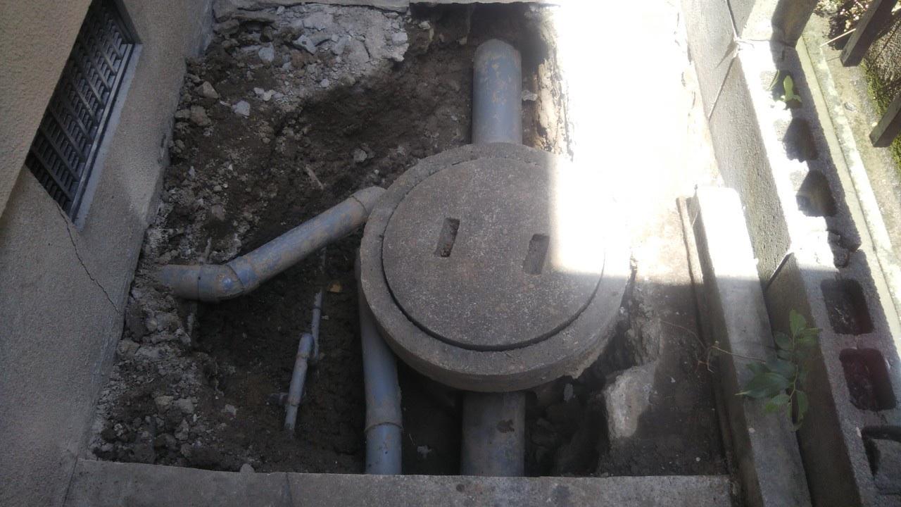 排水工事 工程1