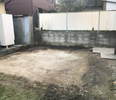 住宅解体工事 施工後