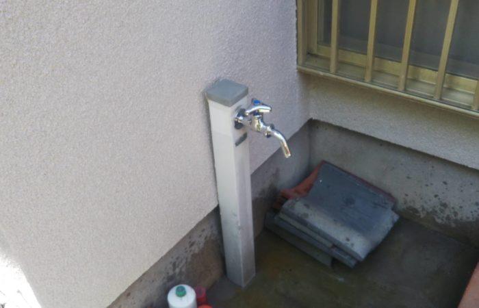 散水栓蛇口新設工事 施工後