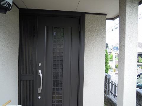 玄関ドア工事 施工後