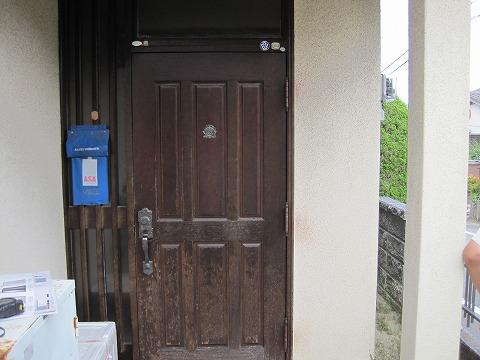 玄関ドア工事 施工前