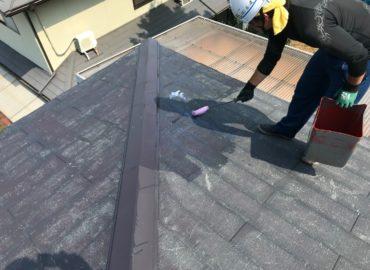 屋根塗装工事 工程2