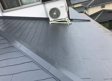 屋根塗装工事 工程4