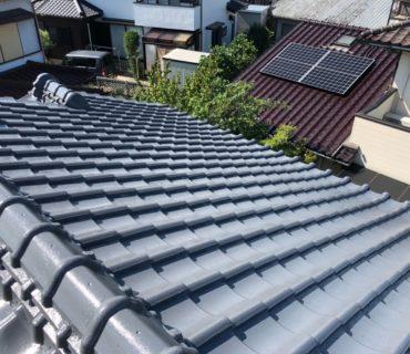 屋根塗装工事 施工後