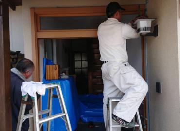 玄関ドア・リフォーム工事 工程3